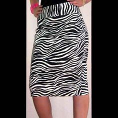 Rockabilly Punk Zebra Print Stretch Pencil Skirt [WSK08] - $28.00 : Black Orchid Couture, Gothic, Punk, Rockabilly and Steampunk Clothing, Shoes, Jewelry, Home Decor and Accessories