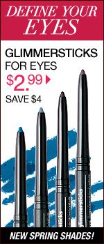 The Famous AVON Glimmersticks for Eyes...ONLY $2.99.  www.youravon.com/tammyhite