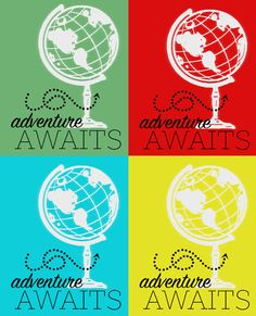 i should be mopping the floor: Adventure Awaits Printable & Our New Home