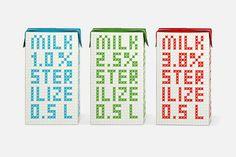 Milk collection | Designer: Hattomonkey Design Studio