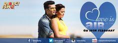 Love is IN THE air ON 19TH FEBRUARY  Team #DirectIshq  Rajiv S Ruia Rajniesh Duggall Arjun Bijlani Nidhi Subbaiah #PradeepkSharma  #bollywood #Instabollywood #bollywoodfilm #bollywoodmovie #bollywoodactresss #Bollywoodstar #movie2016 #Bollywooddirector #newtrailer