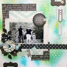 A Trio of Handmade Flowers by Nicole Doiron