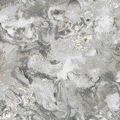 Liquid Marble Wallpaper Grey, Gold - Wallpaper from I Love Wallpaper UK B&w Wallpaper, Marble Effect Wallpaper, Grey Wallpaper Iphone, Metallic Wallpaper, Aesthetic Iphone Wallpaper, Aesthetic Wallpapers, Wallpaper Designs, Latest Wallpaper, Wallpaper With Silver