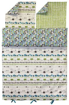 The Snake and I by Stoffabrics, bed sheets