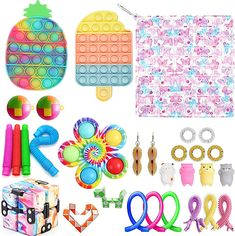 Figet Toys, Diy Toys, Diy Fidget Toys, Birthday Presents For Girls, Cleaning Toys, Gadgets, Christmas Wishes, Bubble, Kids Rugs