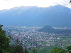 Unterseen. View from Luegibrüggli