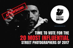 Vote for the most influential street photographers of 2017