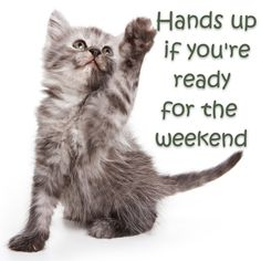 Ready for the weekend! #TGIF