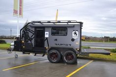 20 Off-Road Camping Trailers Perfect For Your Jeep - camper - Jeep Camping, Off Road Camping, Motorcycle Camping, Camping Hacks, Off Road Camper Trailer, Trailer Build, Camper Trailers, Custom Trailers, Expedition Trailer