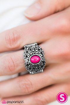Color Burst Pink Ring