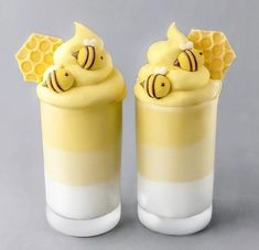 # Desserts for kids 50 Of Juice and Milkshake Pictures in 50 Glasses All Look Amazingly Beautiful - Delicious Food Kids Fun Drinks, Yummy Drinks, Yummy Food, Colorful Drinks, Colorful Food, Kreative Desserts, Smoothie Cup, Smoothies, Cute Baking