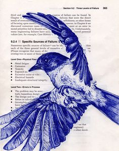 Bird drawings: blueinkpen_bluebird by PS pics, via Flickr