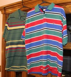 b899ec033a8184 Details about Lot of 2 TOMMY HILFIGER Men s Polo Golf Short Sleeve Button  Neck Shirts SIZE S