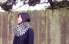 zig zag knitting pattern - $3.50 make something like this for my shop