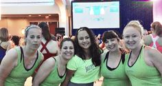 At Jazzercise Live in Washington DC #jazzerciseLive #jazzerciseNOVA www.gojazzercise.com