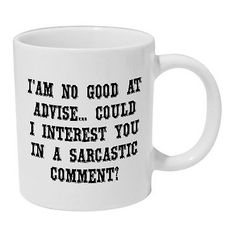 I'm no good at #advice mug #funny #coffee tea cup gift,  View more on the LINK: http://www.zeppy.io/product/gb/2/291394306473/