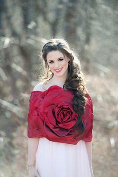 winter bride, christma bride, bridal accessories