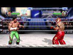 WWE All Stars Xbox 360 Gameplay Eddie Guerrero vs Rey Mysterio Wrestling Games, Eddie Guerrero, Xbox 360, Games For Kids, All Star, Wwe, Sumo, Articles, Stars