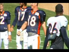 ▶ Peyton Manning and Britton Colquitt dance to Rocky Top - YouTube --  #ProFootballDenverBroncos