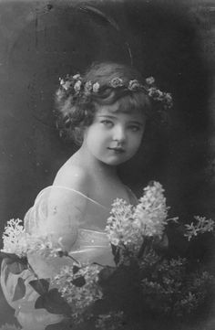 Vintage Picture of Girl