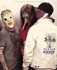 corey taylor, chris fehn, and sid wilson