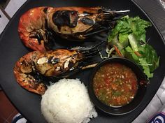 Grilled jumbo shrimp!!!!