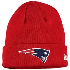Men s New Era Red New England Patriots Solid Cuffed Knit Hat - Nfl New  England Patriots 36b3d5197