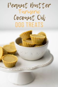 Peanut Butter Turmeric Coconut Oil Dog Treats is part of Coconut oil for dogs - A SUPER quick dog treat recipe that your dog will love! Make these peanut butter turmeric coconut oil dog treats in less than 10 minutes! Puppy Treats, Diy Dog Treats, Homemade Dog Treats, Healthy Dog Treats, Organic Dog Treats, Gourmet Dog Treats, Natural Dog Treats, Homemade Baby, Dog Biscuit Recipes