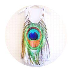 Peacock Feather Women Tank Top,Tunic,Sleeveless T-shirt