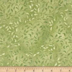 Essentials Climbing Vine Leafy Green from @fabricdotcom  Designed for Wilmington Prints, this cotton print fabric is perfect for quilting, apparel and home décor accents. Colors include shades of green.