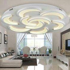 Acrylic Novelty Led Ceiling Lights For Living Room Bedroom Home Indooru2026