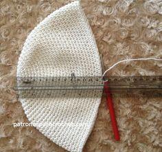 Todo lo que necesitas saber para tejer un buen gorro / Aprende a tejer ~ Patrones para Crochet Crochet Baby Hats, Baby Knitting, Knitted Hats, Crochet Round, Free Crochet, Knit Crochet, Stitch Patterns, Crochet Patterns, Patron Crochet