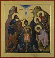Expozitie 2019 - Lucrari Byzantine Icons, Byzantine Art, Orthodox Icons, Fresco, Jesus Christ, Christianity, Projects To Try, Spirituality, Painting