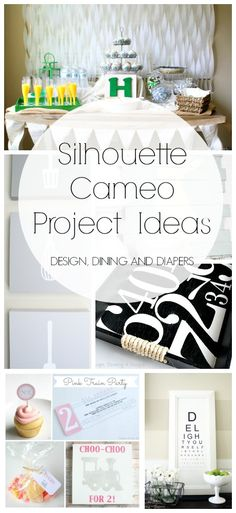 Silhouette Cameo Projects   Parties, Signs & Decor, and more! Fall in love with your Silhouette with these DIY projects.
