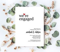 Engagement Party Invitation Template Diy Engagement Invite