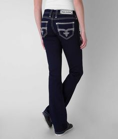 -sizes 25-36 (0-20) -Boot Cut -Curvy fit, slightly eased through the hip and thigh Rock Revival Amanda Easy Boot Stretch Jean - Women's Jeans | Buckle
