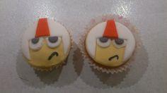 Kick Buttowski Cupcakes