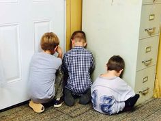 Brothers time out