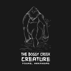 The Boggy Creek Creature by artenceladus