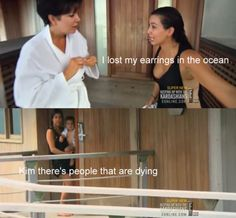 "Haha ""Kim there are people dying"""