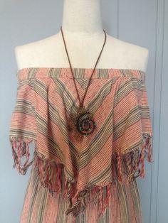 Billabong Fringe dress size M by PadMa88 on Etsy
