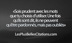 nice Citation - Citation : Les Mots | Les Plus Belles Citations: Collection des citations d'... Check more at https://listspirit.com/citation-citation-les-mots-les-plus-belles-citations-collection-des-citations-d-2/