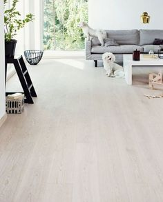 TIMBERWISE Oak GREY brushed waxoiled vertical dogs