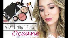 Maquiagem de Helena Lunardelli suave em tons de rosa. Fácil de fazer e super curinga. Perfeita para o dia dia, que vai da feira ao baile!