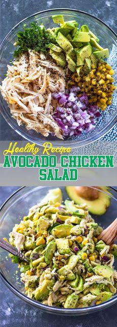 Healthy Recipe: Avocado Chicken Salad - Best Recipes Today