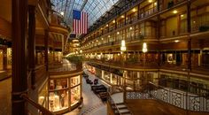 Cleveland Arcade - America's first indoor mall. Absolutely love this venue! Cleveland Arcade, Cleveland Rocks, Cleveland Ohio, Cleveland Wedding, County Seat, Grand Hotel, Wonderful Places, Places Ive Been, New Homes