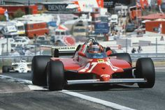 Gilles Villeneuve Ferrari 1981