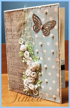 SVATEBNÍ Altered Composition Books, Altered Books, Scrapbook Journal, Scrapbook Cards, Diy Paper, Paper Crafts, Glue Book, Beautiful Notes, Diy Crafts Hacks