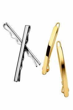 Get Great Hair - Ficcare Chrome Bobby Pins,