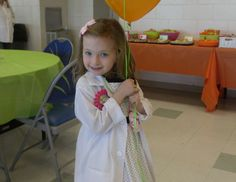 Lilly's Weird Science Birthday Party